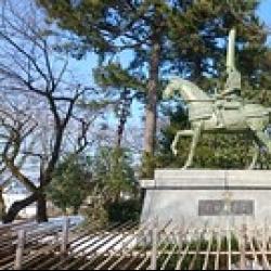 前田利長公 in 高岡古城公園(高岡市)